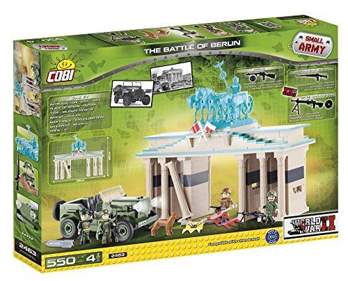 COBI 2463 – The Battle of Berlin, Konstruktionsspielzeug, grün/beige - 2