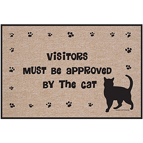 ospiti-devono-essere-approvati-dal-gatto-zerbino-kitty-paws-welcome-tappeto