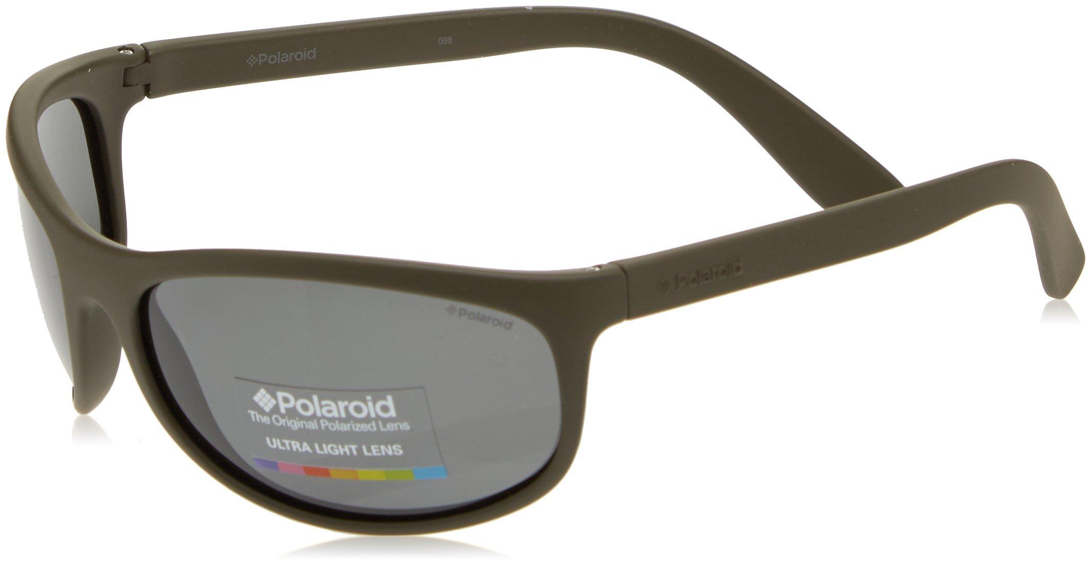 Polaroid - P7334 - Occhiali da sole Donna e Uomo Rettangolare - Polarizzati - Materiale leggero - Custodia protettiva… 1 spesavip