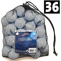 3-Dutzend 36er Pack Golfbälle 2 Layer Weiß Netz Verpackung