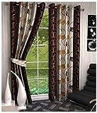 Kanha 4 Piece Polyester Floral Long Door...