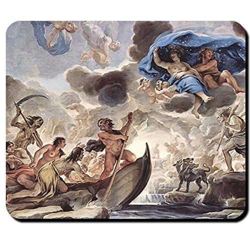 Charon ueberfahrt inferi mitologia faehrmann obolus Acheron Hades Grecia-Mouse Pad Computer Laptop PC # 16458