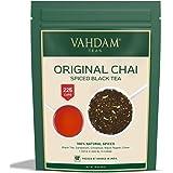 VAHDAM, India's Originele Masala Chai Thee Blaadjes (200+ Kopjes) 454g | 100% Natuurlijke Ingrediënten | Zwarte Thee, Kaneel,
