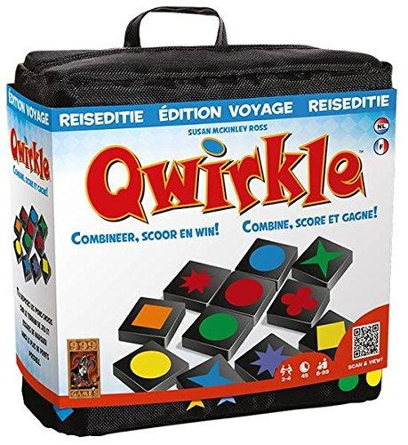 999 Games Qwirkle Reiseditie - Juego de Tablero