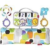 Fisher-Price GJD27 Muziekspeelkussen, muziekspeelgoed om te spelen in de buikligging, babyuitrusting vanaf de geboorte