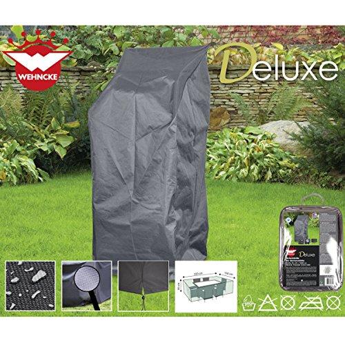 Deluxe Stuhl, Tragetasche (Deluxe Schutzhülle für Gartenstühle, 65x120cm, Polyester 420D - Garten Stuhl Gartenmöbel Schutz Hülle Abdeckung Tragetasche Plane)