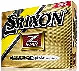 Srixon Z-Star - Standard Golf Balls Color: Yellow pack of 12