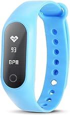 JSGDSH B15S Smart Armband Blutdruck Sauerstoffmessung Herzfrequenz Erinnerung Schrittzähler IP67 Smart Armband 15 Tage Standby-Zeit