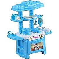 Toys Treasure 32Pcs Toy Kitchen Role Play Set Multicolour for Boys/Girls/Kids