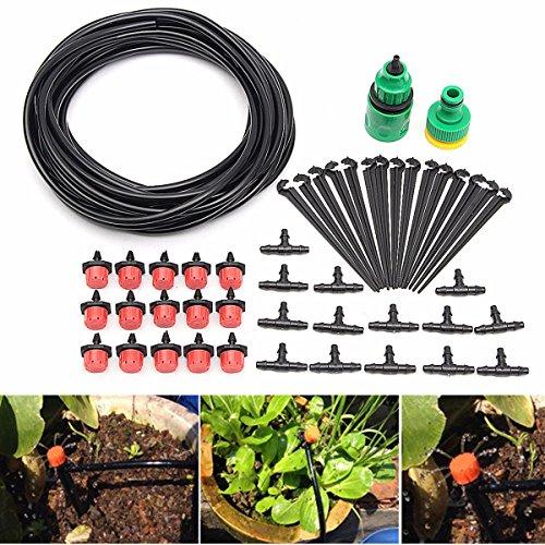KING DO WAY 10m Gartenschlauch DIY Micro Tropfen Ventil Bewässerungssystem Auto Timer Gewächshaus...