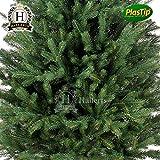 PREMIUM Spritzguss Weihnachtsbaum 150 cm Nobilistanne Edeltanne Christbaum Spritzgusstanne Kunsttanne Tannenbaum Original Hallerts Bellister - 2