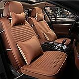 O Autositzkissen Sitzkissen Leinen Stoffe Für Universal Alle Jahre General Motors, brown