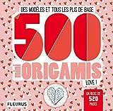 500 mini origamis love ! Des modèles et tous les plis de base