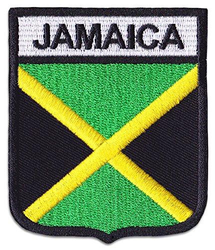 Jamaica Bandera parche planchar Patch Reggae raggamuffin
