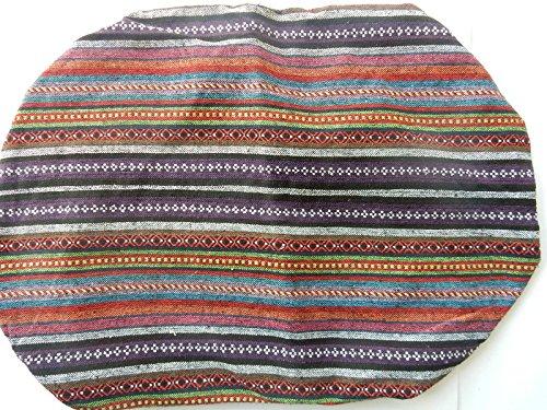 Baumwolle verschiedene handgewebt Umhängetasche Farben Kombi Violett Blau Rucksack 4wO8qBx