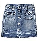 Pepe Jeans Girls Jeansrock Alina, Fb. Blue denim (Gr. 12/152)