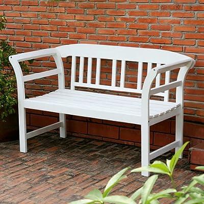 Gärtner Pötschke Garten-Sitzbank Friesland, weiß