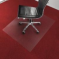 Tappeto salvapavimento Office Marshal® per moquette | PVC | Trasparente | diverse misure, 120x130 (Spesso Cucina Tappeti)