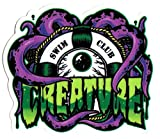 Creature Skateboad Sticker - Swim Club - 10cm wide approx. skate snow surf board bmx guitar ipad