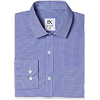 Excalibur by Unlimited Men's Checks Regular Fit Formal Shirt (Pack of 2)(274298449_ASSORTED_40_FS)