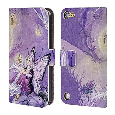 Officiel Meredith Dillman Papillons Fée Étui Coque De Livre En Cuir Pour iPod Touch 5th Gen / 6th Gen