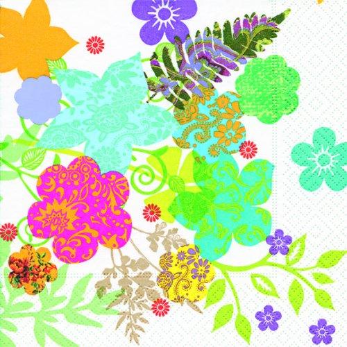 Flowers / Blumen / Blumenmuster 33x33cm ()