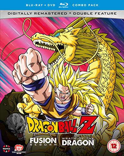 Dragon Ball Z Movie Collection Six: Fusion Reborn/ Wrath of the Dragon - DVD/Blu-ray Combo [UK Import]