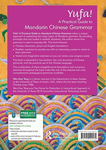 Yufa! A Practical Guide to Mandarin Chinese Grammar (Routledge Concise Grammars)