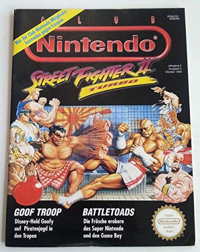 Club Nintendo Magazin SNES Super Nintendo NES GB (u.a. über Street Fighter 2 Turbo Battletoads Lost Vikings Bubsy Kirby Mystic Quest Legend) Spieleberater Zeitschrift Ausgabe 25 Oktober 1993 (Super Battletoads Nintendo)