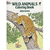 Wild Animals Coloring Book (Dover Nature Coloring Book) by John Green (1987-10-01)