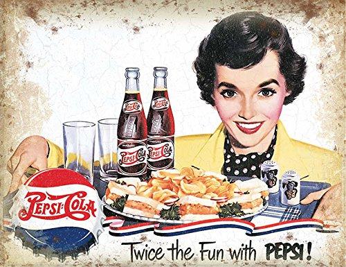 pepsi-cola-twice-the-fun-plaque-metal-stable-plat-nouveau-40x30cm-vs4829-1