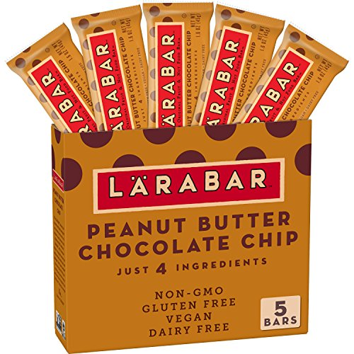 Humm Foods Larabar, Peanut Butter Chocolate Chip, 5 Bars, 1,6 Unzen (45 g) Jeder -