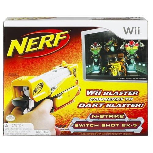 Preisvergleich Produktbild Nerf N-Strike Switch Shot EX-3m (Nintendo Wii) [Import UK]