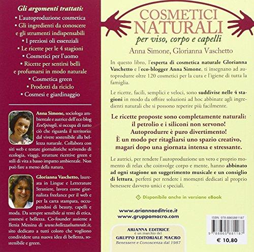 Zoom IMG-1 cosmetici naturali per viso corpo