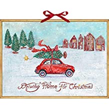 Wandkalender – Driving Home for Christmas