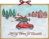 Wandkalender – Driving Home for Christmas
