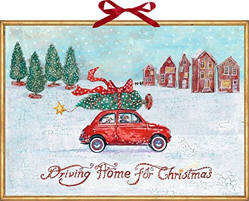 Wandkalender - Driving Home for Christmas (Driving For Christmas Home)