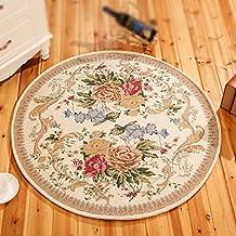 Alfombra redonda China Sala de estar alfombra redonda Alfombra Jacquard Diámetro 160cm Lavable a máquina manta redonda ( Color : 2# )