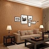 Simple moderno Plaid liso color sólido papel pintado no tejido amplio living comedor dormitorio de papel pintado de pared a pared , khaki