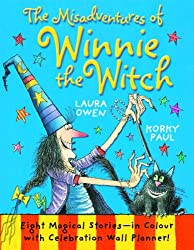 The Misadventures of Winnie the Witch with Wall Planner by Laura Owen (2012-10-04)