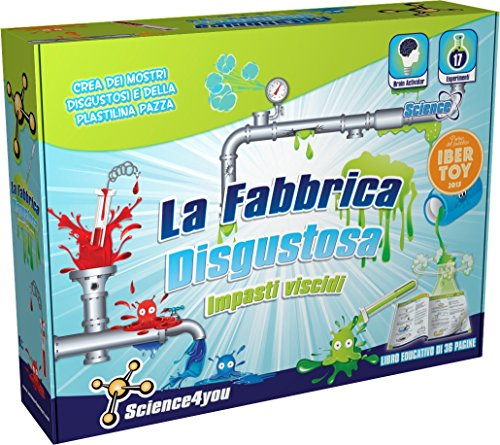 Science4you La Fabbrica Disgustosa Impasti Viscidi -...