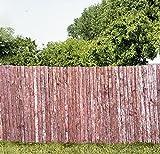 Sichtschutzmatte aus Rinde in zwei Größen (100 cm x 300 cm)