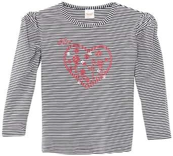 Dirkje - wish - sweat-shirt - fille - beige (stripe navy/offwhite) - FR : 18 mois (Taille Fabricant : 86)