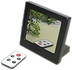 Versteckte Kamera versteckt in einem Tischwecker 720p mit Bewegungserkennung (motion detection), Tischuhr HD 1280 x 720p 5 Mega pixel Glas - Spiegel Spionage Spycam Spy cam Hidden Cam Digitaluhr mit Bewegungssensor