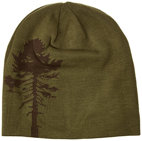 Pinewood Kinder Wendemütze Tree, grün/Braun/Orange, One Size -