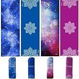 Syourself Extrafeine Faser Yoga Handtuch -61cm x 183cm - gilt