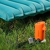 fghdfdhfdgjhh Bomba de Aire portátil con 3600mAh Batería de Aire Recargable con batería USB para inflables Inflables rápidos Desinflar el colchón de Aire