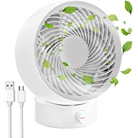 Ventilateur USB, Mini ventilateur portable RATEL, Vitesse de vent ultra-élevée/vitesses libres/Moteur puissant, Idéal…