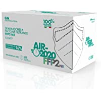 AIR-2020 - Mascherine FFP2 Certificate - Sistema Nasale Antiappannamento - Mascherina Antiappannamento Made in Italy…