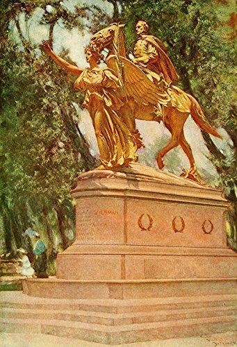 Frank DuMond - The Century Magazine 69 1905 St Gauden's Statue of General Sherman Kunstdruck (45,72 x 60,96 cm) 1905 Frank
